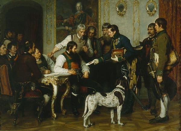 1809 LES INSURGES TYROLIENS D'ANDREAS HOFER 30.17