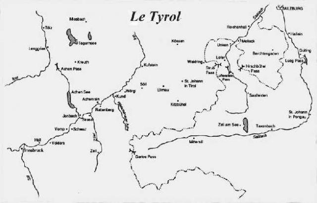 1809 LES INSURGES TYROLIENS D'ANDREAS HOFER 30.21