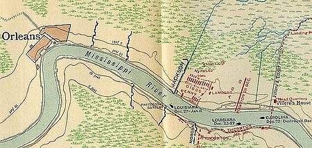 1815 le 8 janvier Bataille de la Nouvelle Orléans 16.20