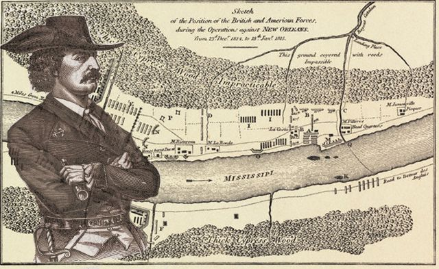 1815 le 8 janvier Bataille de la Nouvelle Orléans 16.25