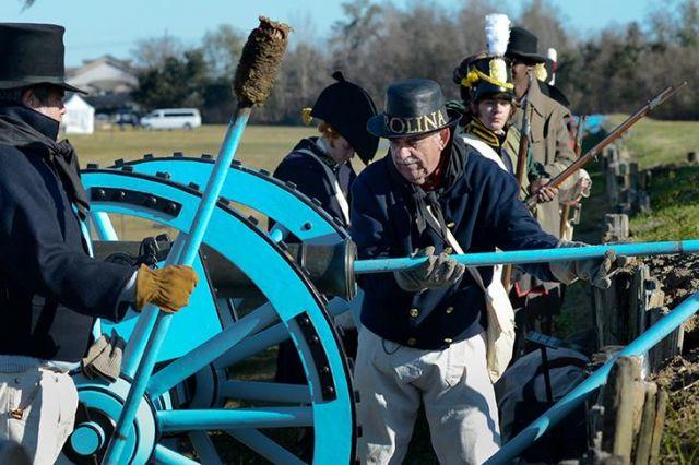 1815 le 8 janvier Bataille de la Nouvelle Orléans 16.31