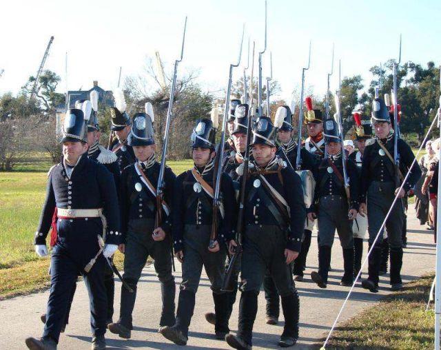1815 le 8 janvier Bataille de la Nouvelle Orléans 16.34