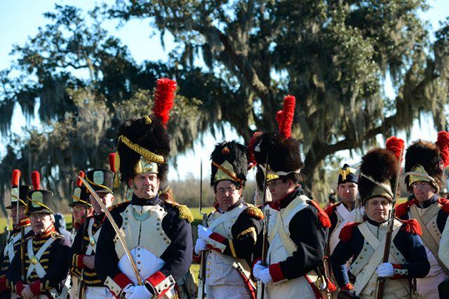 1815 le 8 janvier Bataille de la Nouvelle Orléans 16.39