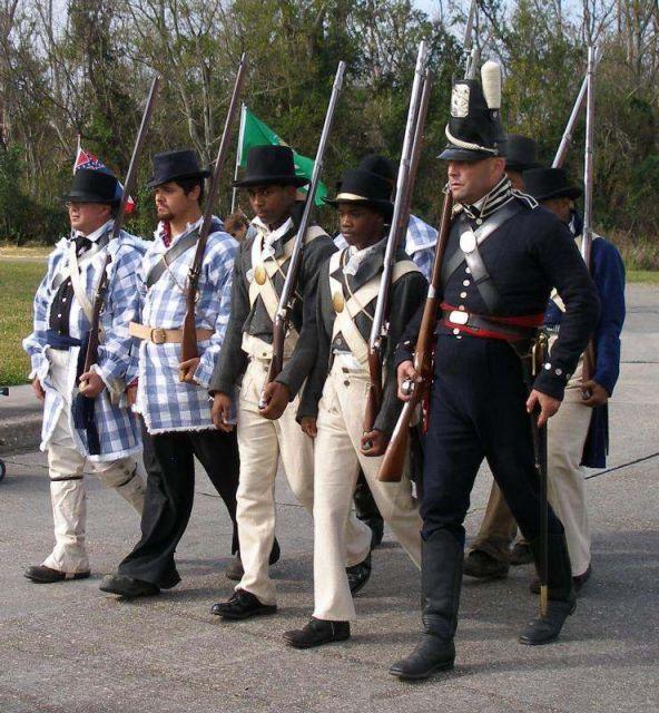 1815 le 8 janvier Bataille de la Nouvelle Orléans 16.40