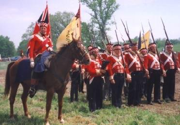 1815 le 8 janvier Bataille de la Nouvelle Orléans 16.42