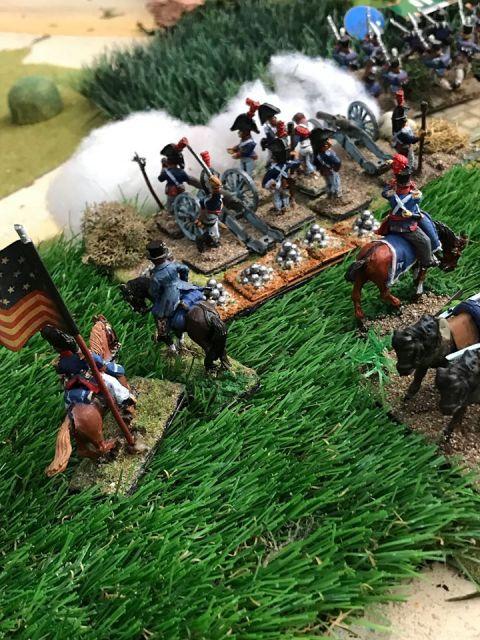 Escarmouche aux alentours de BEAVER CREEK en 1813 19.17