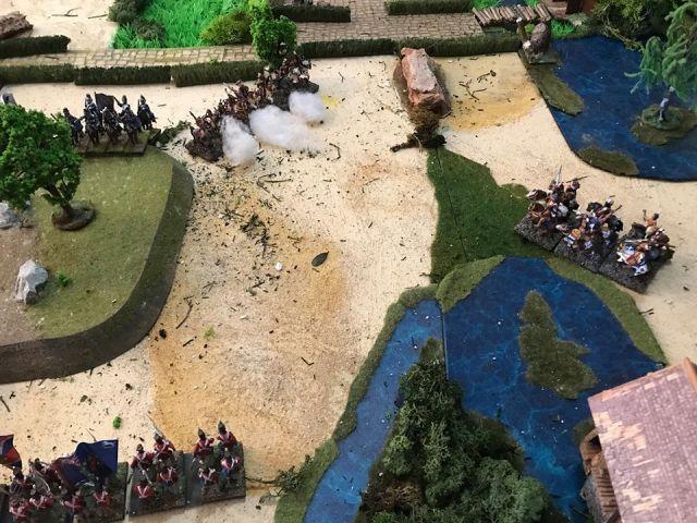 Escarmouche aux alentours de BEAVER CREEK en 1813 19.32