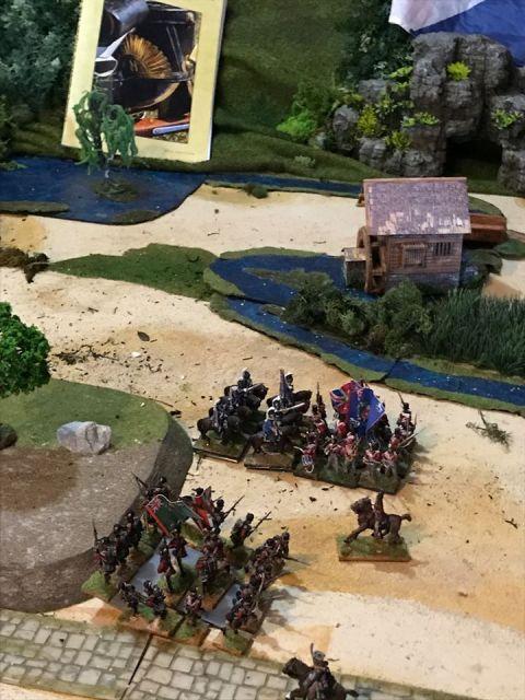 Escarmouche aux alentours de BEAVER CREEK en 1813 19.37