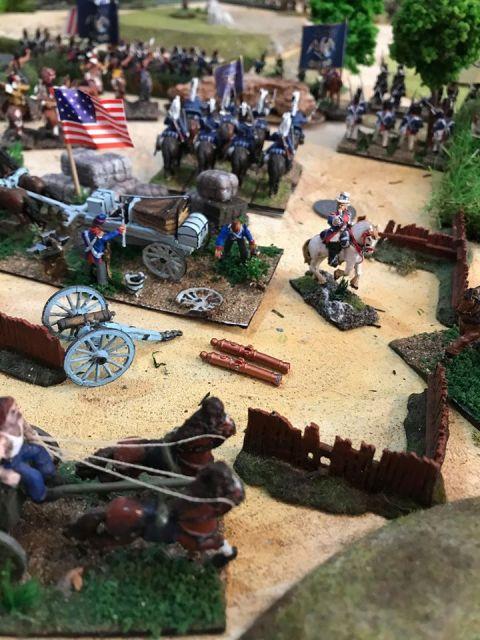 Escarmouche aux alentours de BEAVER CREEK en 1813 19.4