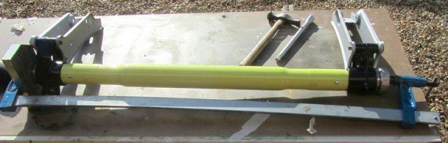 Remontage du train arrière d'une 205 GTI 1,9 04.33