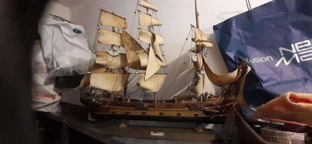Frégate HMS THETIS 09.0