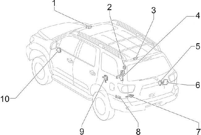 Схема предохранителей и реле, Тойота Тундра, Секвоя. T20362_knigaproavtoru01205546