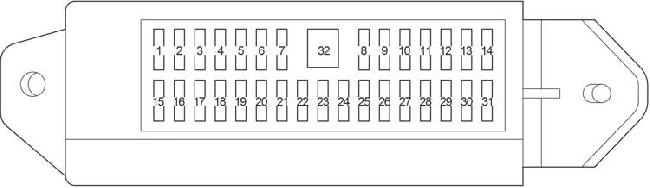 Схема предохранителей и реле, Тойота Тундра, Секвоя. T20363_knigaproavtoru01205329