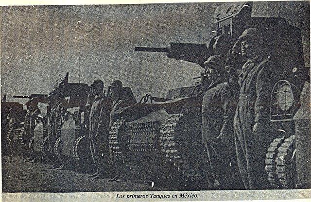 Los primeros Tanques en México. 234A938EA4284A3FFAB5284A3FFAA3