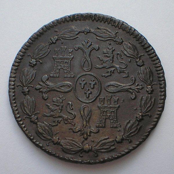 8 Maravedis 1819. Fernando VII. Jubia. 045bfa606213dec2c656440c0b282133o