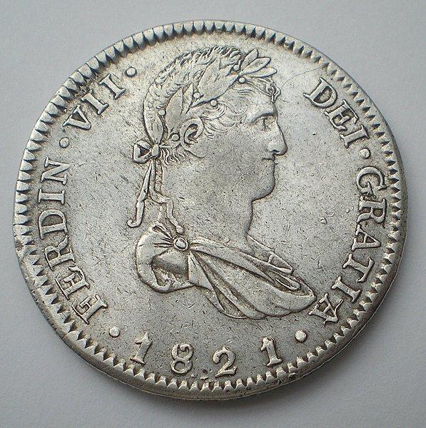 8 Reales de Fernando VII (Guadalajara FS, 1821 sobre 1818) [WM n° 7452] 0d84861b0a6e9154637460e4a8dca624o