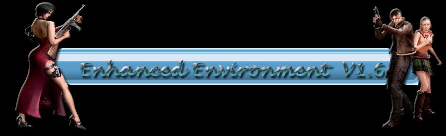 OFF-LINE (redirección) -  Mod Enhanced Environment versiones 1.5,1.6 y 2.0 para el RE4 0de1d7bbaf277cc7fb6d4599cdc0f265o