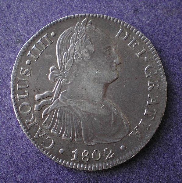8 Reales de Carlos IV (México FM, 1802) [WM n° 7456] 0e9a1d9b24954df638875fa34e8be2b2o