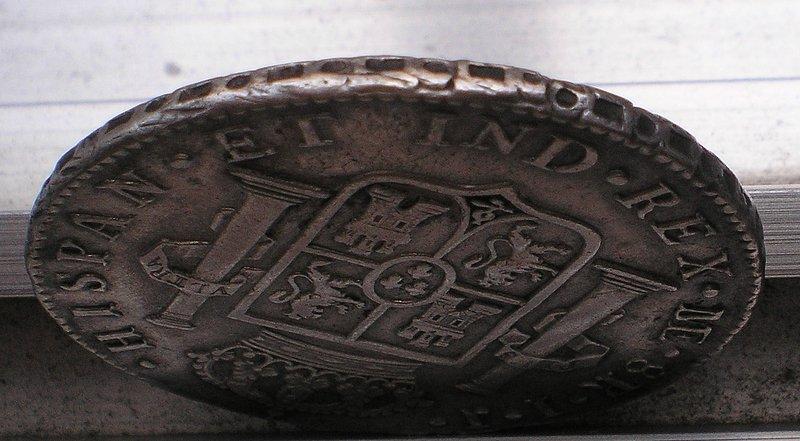 8 Reales de Carlos IV (Lima IJ, 1795) [WM n° 7500; WM n° 7501] 22321b9f85360b19afc07308a38ce228o