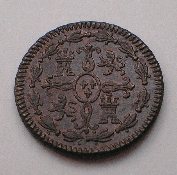 2 Maravedís de Fernando VII (Jubia/Xuvia, 1819) Sin circular [WM n° 7557] 2630731c19a04d58d8dc2745b2ed5aaco
