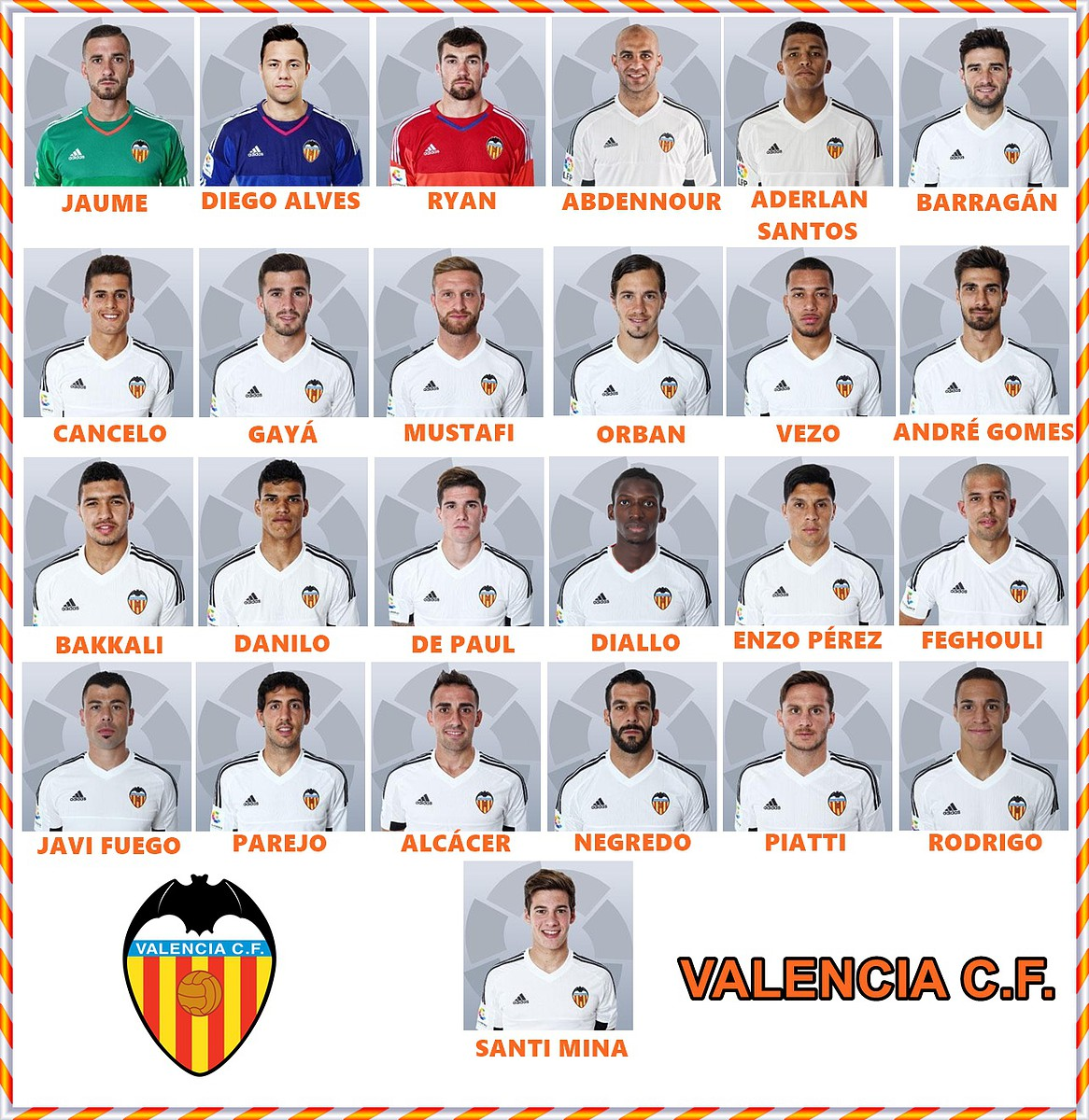 Hilo del Valencia C.F 28a32a5443b6d1da0c18a46416a8867bo