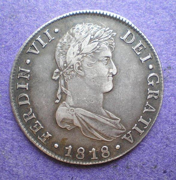 8 Reales de Fernando VII (Guatemala, 1818) [WM n° 7191] 2c4be78a9834389614a8d5c47299486eo