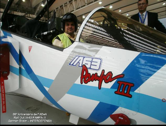 86° Aniversario de FAdeA - Presentación del IA-63 Pampa III (Cobertura INTERDEFENSA) 336500e980128d7106805ecfebcc55b9o