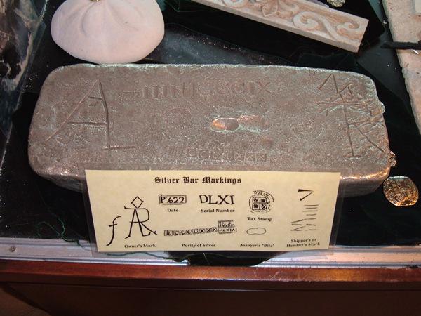 foto de lingote de plata como los encontrados en el antiocha español con simbolos     3a564df539fad927dce87c01b4d9670co