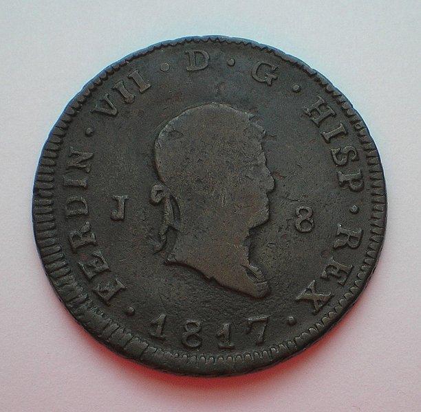 8 Maravedís de Fernando VII (Jubia 1817) [WM nº 8926] 40ca4330badf07ab653e786b0d8a1c23o