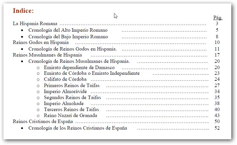 Cronología de los reinos de España - texto de José Ángel Linares Toro - año 2012 - formato pdf 499014ac378e937e87d46f39c1d1cf17o