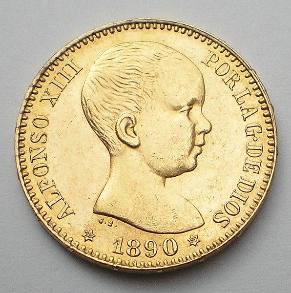 20 Pesetas Alfonso XIII 18*90 SC 4aa239947f65566afd0185787ebea33do