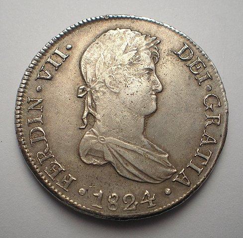 8 Reales de Fernando VII (Cuzco, 1824 T) [WM n° 8179] 4df5452ad7aa993dfaca2c2d145d45abo