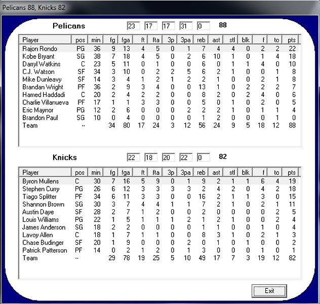 New Orleans Pelicans - New York Knicks Día 3 51485957b082cb3701a734cda811664bo