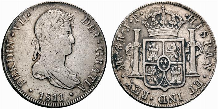 1812 Lima JP. 8 reales. Fernando VII [WM nº 8920] 567af9df728cfec9bfbf840fb37263c2o