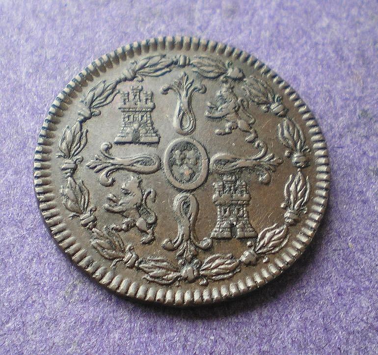8 Maravedís de Fernando VII (Jubia, 1823) [WM n° 7194] 58fb341cd928065e7f2e00e7f433c181o