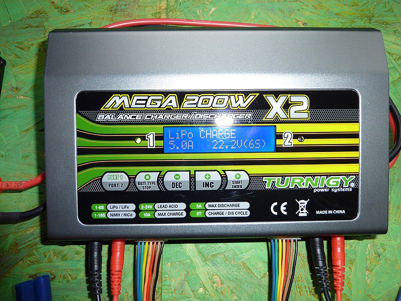 Vendo cargador turnigy mega 200W x 2 5a47cdf2eae78d3792a91f04003cbf7co