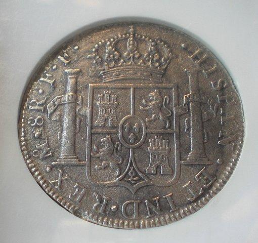8 Reales de Carlos III (México, 1783) procedente del pecio El Cazador 6598c1dcd062795467edea9667629526o