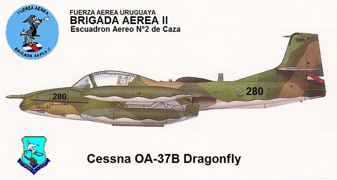 FUERZA AÉREA DE URUGUAY (FAU) 698d7e0ce3386502757b4eacc6b8a3cao