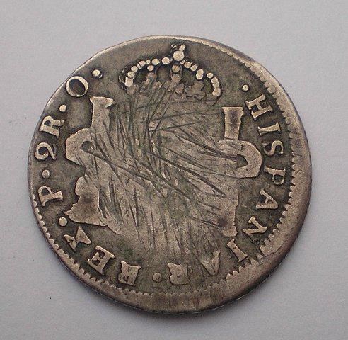 2 Reales de Fernado VII (Pasto, 1822 O) 719440d1f92445b15e2e138825706ff4o