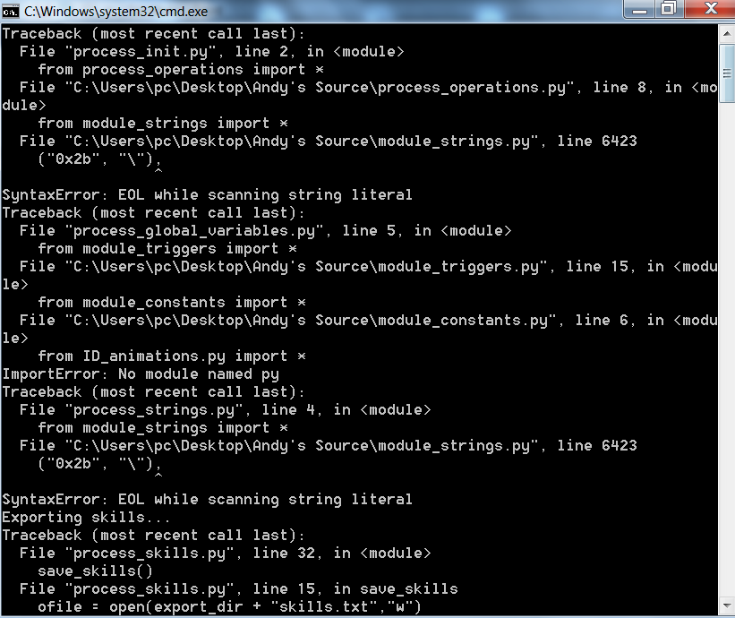 Error con module system 73158dacf00ed45881fbfb0d38102827o