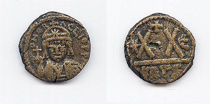 Medio Follis de Heraclio ,Cartago, tipo sin barba 8672ddb2b458a8763a38207910241bc4o