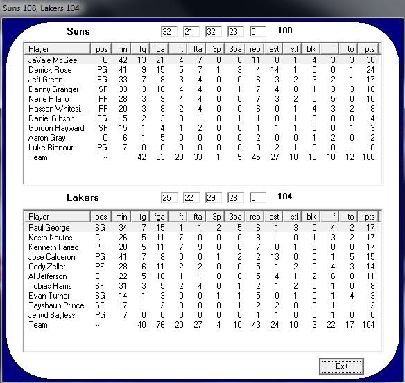 Phoenix Suns - Los Angeles Lakers (Día 5) 86892f65d61e898e41e1e9e2ff694fd9o