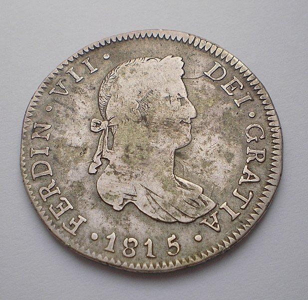 4 Reales de Fernando VII (Guadalajara, 1815) [WM n° 7188] 87e2653d1e2fc196223668e7d8532989o