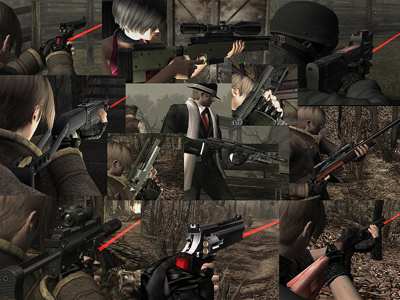 Skins / Armas / HD/ Resident Evil 4 / Autor / Cerberus / Parte 2 8af890a45dd60662b3e28b9d9d61355fo