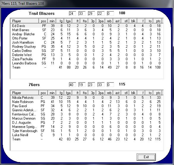 Philadelphia 76ers - Portland Trail Blazers (6º día) 95e7cd32b2ab0278dc080f14ebdaea6ao