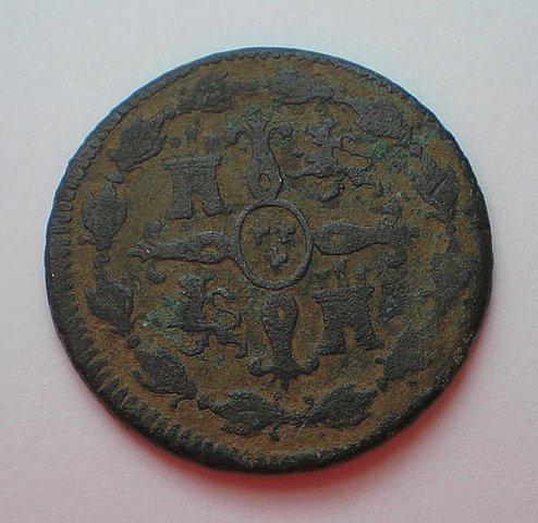 4 Maravedís de Fernando VII (Jubia 1819) [WM nº 8925] 97a69f88b86c2f9594630e7edc124027o
