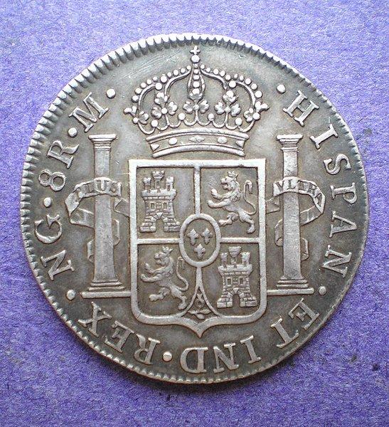 8 Reales de Fernando VII (Guatemala, 1818) [WM n° 7191] 98bbe1325bde4cde9ec98cda7676af64o