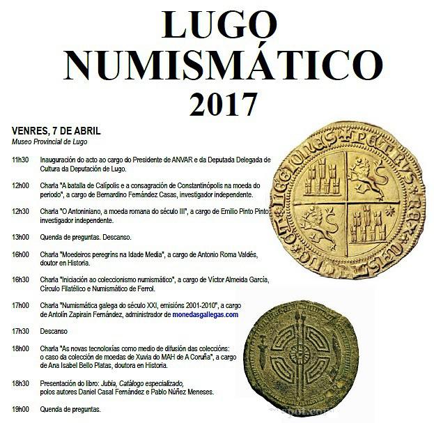 LUGO NUMISMATICO 2017 9c187daf2d0dc8a8f55d3f4caa893ecao