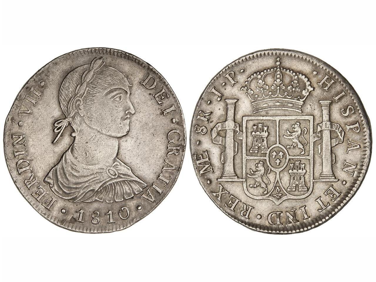 8 Reales de Fernando VII (Lima 1810) Busto Indio [WM nº 8927] B910427b6ca56915e0cc78fc9277a814o