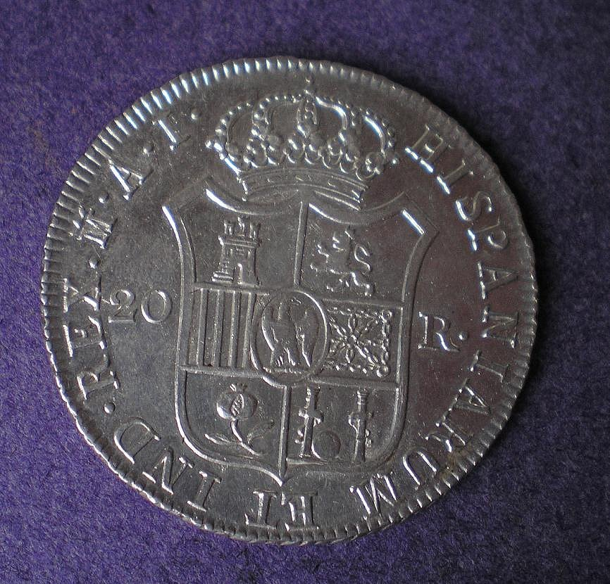 20 Reales de José Napoleón (Madrid AI, 1809) [WM n° 7198] Ba19c28d80fdb44f599141984bc16ee2o